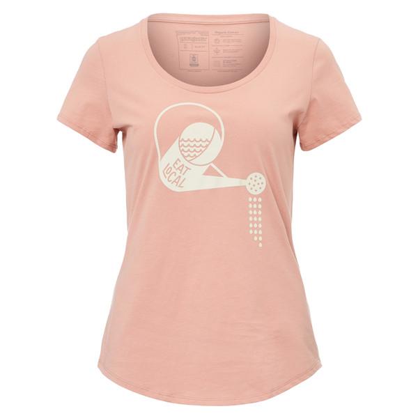 Patagonia W' S EAT LOCAL RAIN CAN ORGANIC SCOOP T-SHIRT Frauen - T-Shirt