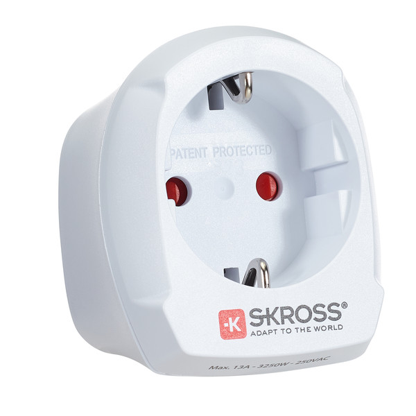 SKROSS SINGLE EU TO UK Unisex - Reisestecker