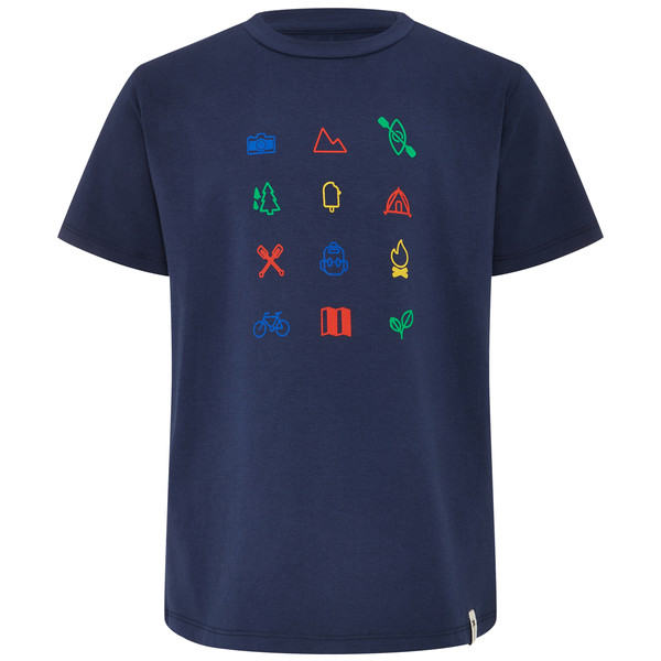 FRILUFTS GLARUS PRINTED T-SHIRT Kinder - T-Shirt