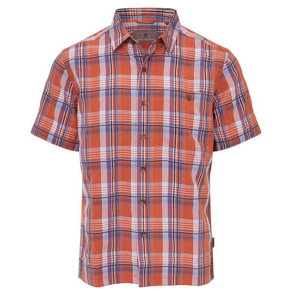 Royal Robbins MOJAVE DOBBY PLAID S/S Männer - Outdoor Hemd
