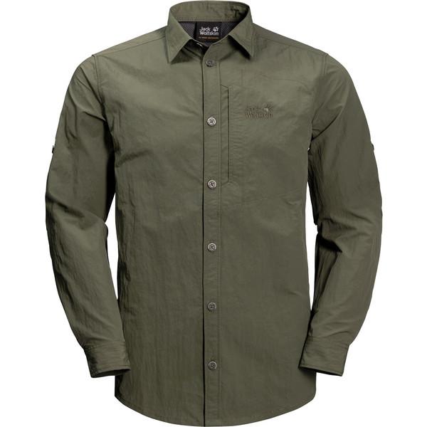 Jack Wolfskin LAKESIDE ROLL-UP S Männer - Outdoor Hemd