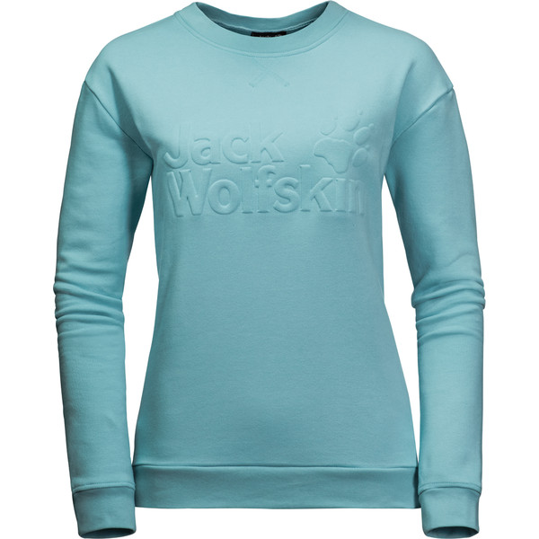 Jack Wolfskin LOGO SWEATSHIRT W Frauen - Sweatshirt