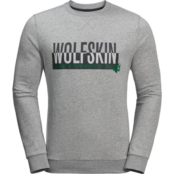 Jack Wolfskin SLOGAN SWEATSHIRT M Männer - Sweatshirt