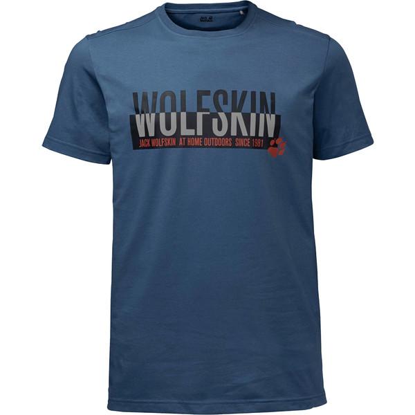 Jack Wolfskin SLOGAN TEE Männer - T-Shirt