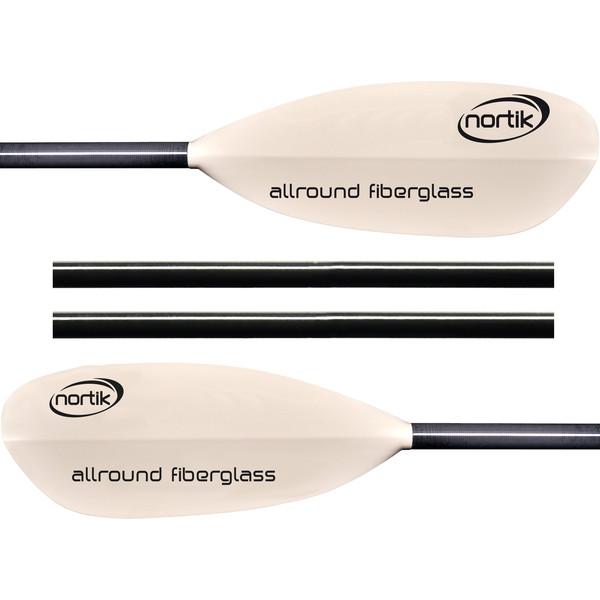 Nortik ALLROUND FIBERGLASS 4TLG. - Doppelpaddel