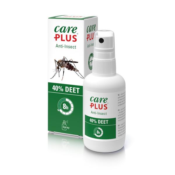 Care Plus ANTI-INSECT - DEET SPRAY 40%, 60ML - Insektenschutz