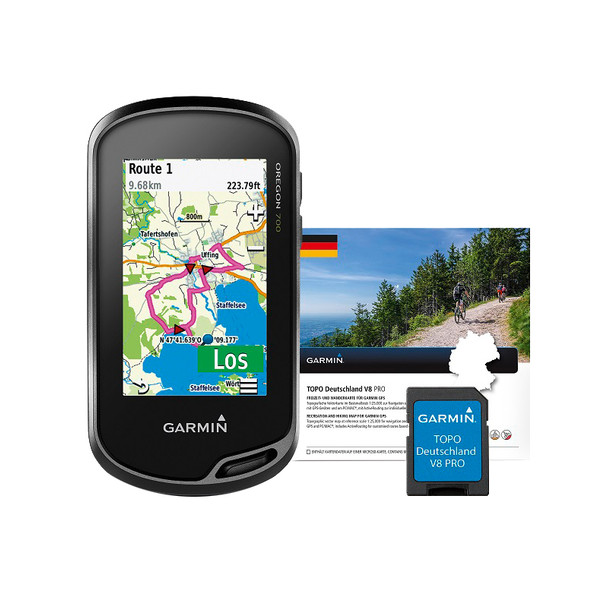 Garmin OREGON 700 + TOPO DEUTSCHLAND V8 PRO - GPS-Gerät