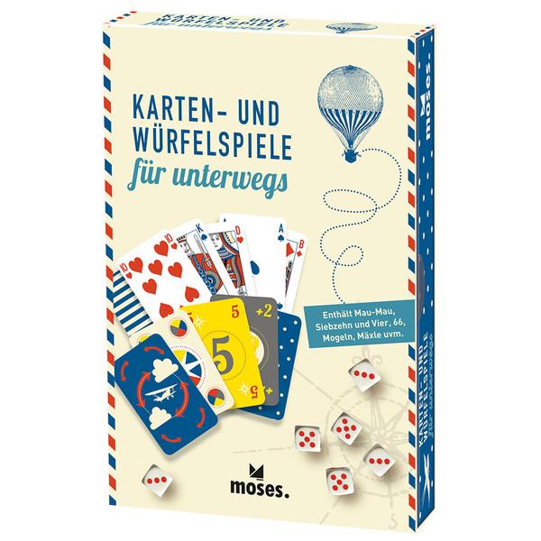 KARTEN- UND WÜRFELSPIELE FÜR UNTERWEGS - Reisespiele