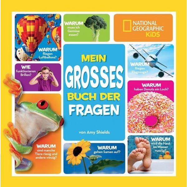 MEIN GROßES BUCH DER FRAGEN - Kinderbuch