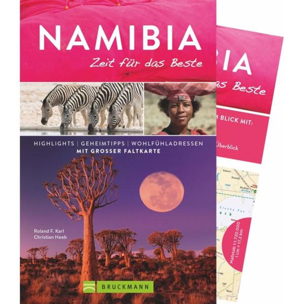 NAMIBIA - ZEIT FÜR DAS BESTE - Reiseführer