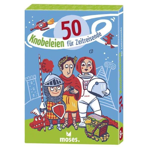 50 KNOBELEIEN FÜR ZEITREISENDE - Reisespiele