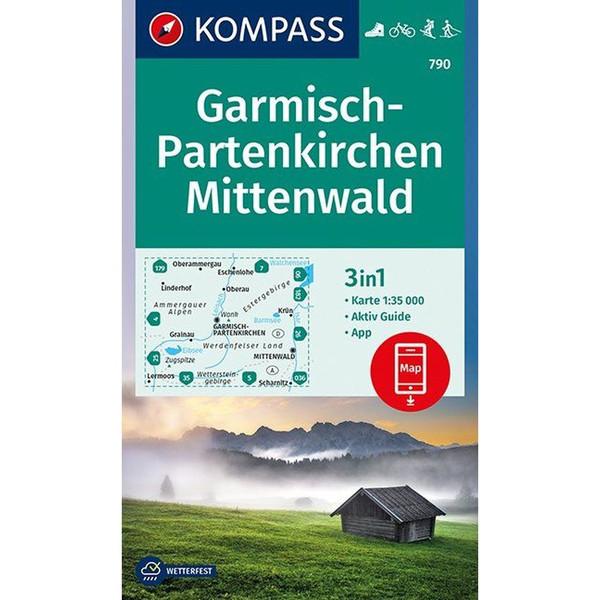 KOKA 790 GARMISCH-PARTENKIRCHEN - Wanderkarte