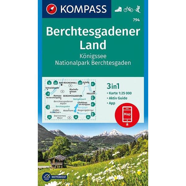 KOKA 794 BERCHTESGADENER LAND, KÖNIGSSEE - Wanderkarte
