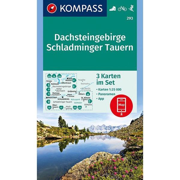 KOKA 293 DACHSTEINGEBIRGE - Wanderkarte