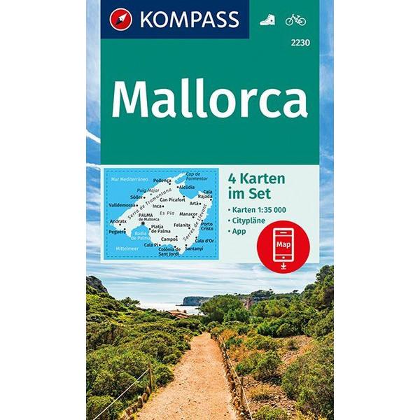 KOKA 2230 MALLORCA - Wanderkarte