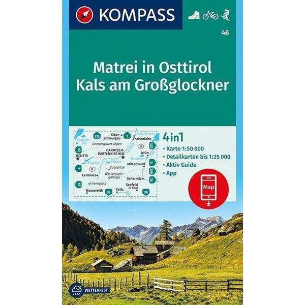 Matrei in Osttirol, Kals am Großglockner 1:50 000 - Wanderkarte