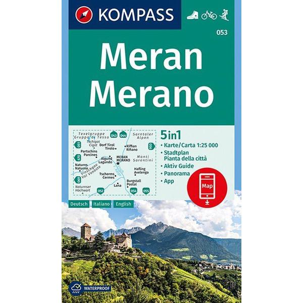 KOKA 053 MERAN - Wanderkarte