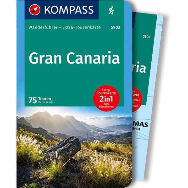KOMPASS WANDERFÜHRER GRAN CANARIA - Reiseführer
