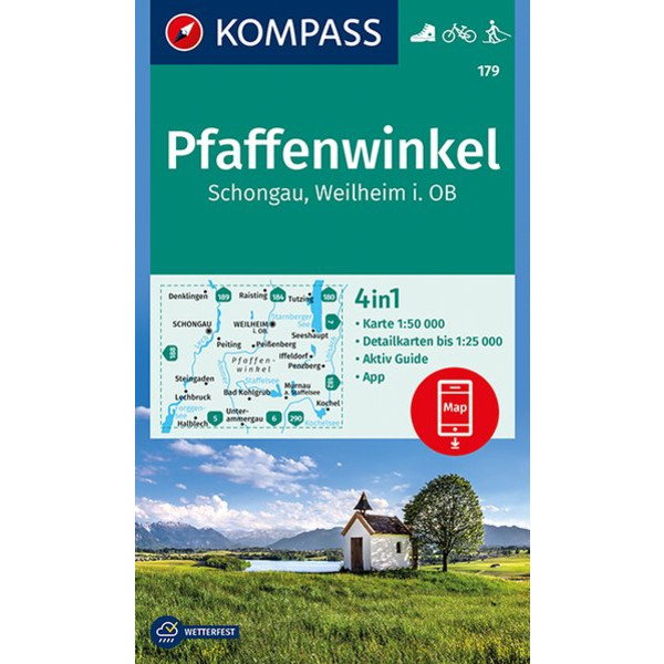 KOKA 179 PFAFFENWINKEL - Wanderkarte