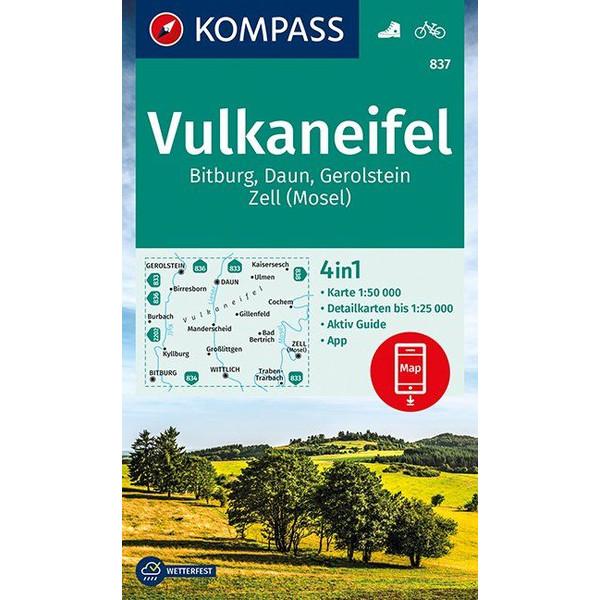 KOKA 837 VULKANEIFEL - Wanderkarte