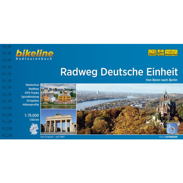 BIKELINE RADWEG DEUTSCHE EINHEIT - Reiseführer