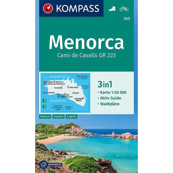 KOKA 243 MENORCA - Wanderkarte