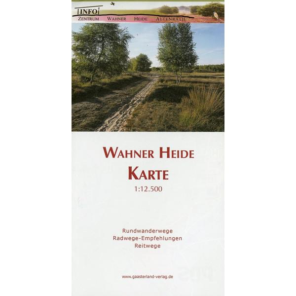 Wahner Heide Karte 1 : 12 500 - Wanderkarte