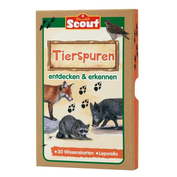 Scout Lernkarten-Box - Tierspuren - Reisespiele