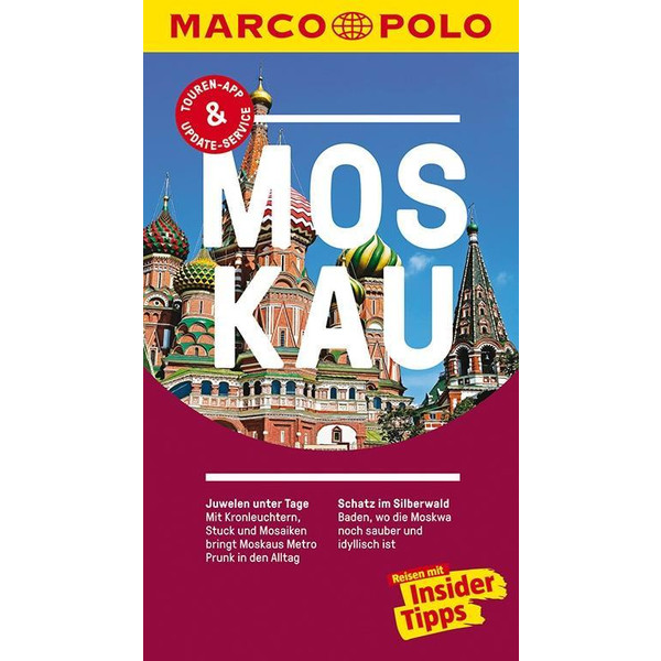 MARCO POLO Reiseführer Moskau - Reiseführer
