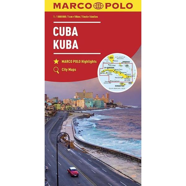 MARCO POLO Länderkarte Kuba 1:1 000 000 - Straßenkarte