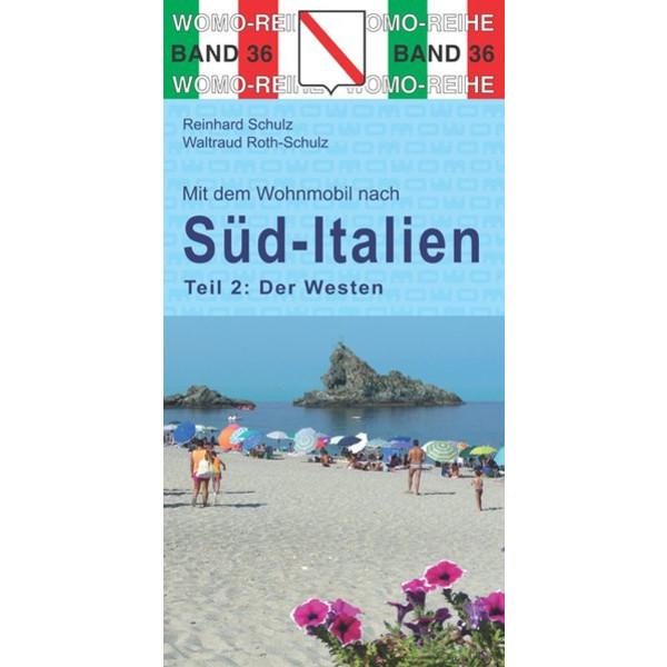 WOMO 36 SÜD-ITALIEN - DER WESTEN - Straßenkarte