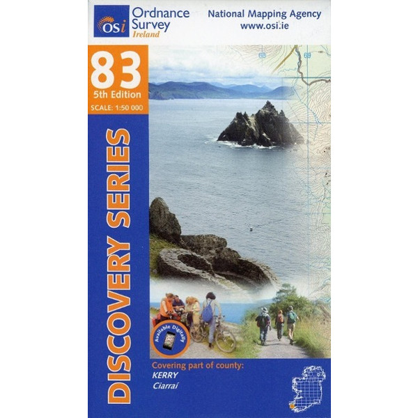 Irish Discovery Series 83. Kerry 1 : 50 000 - Wanderkarte