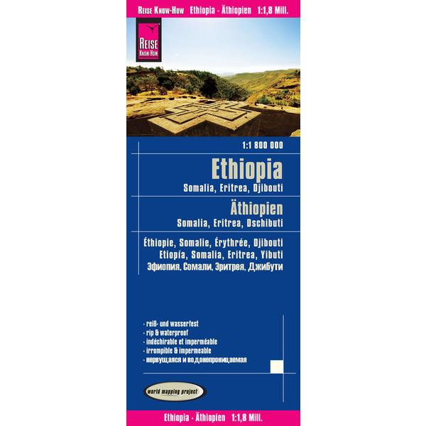 RKH WMP ÄTHIOPIEN, SOMALIA 1:1.800.000 -