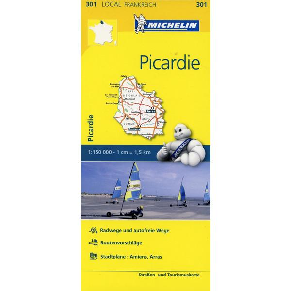 Michelin Localkarte Picardie 1 : 150 000