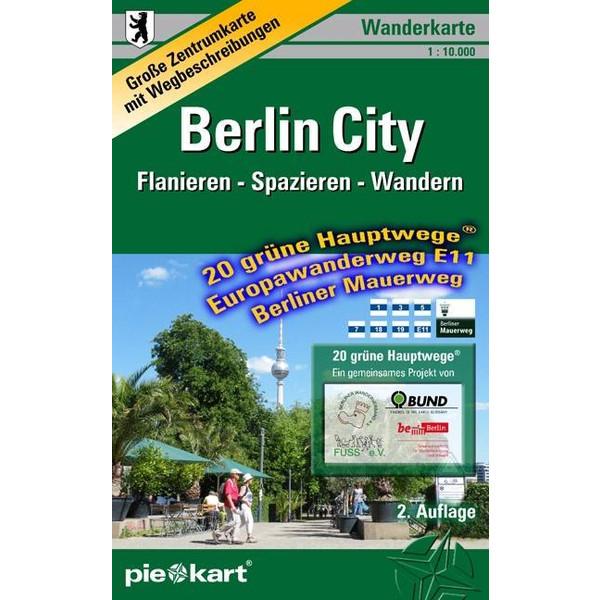 Berlin City 1 : 10.000 Wanderkarte - Wanderkarte