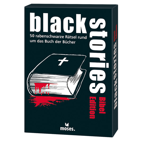 BLACK STORIES - BIBEL EDITION - Reisespiele