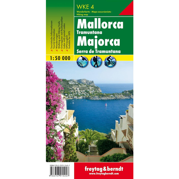 Mallorca - Tramuntana - Wanderkarte
