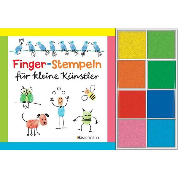 Fingerstempeln für kleine Künstler-Set - Reisespiele