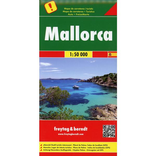 Mallorca 1 : 50 000 - Wanderkarte