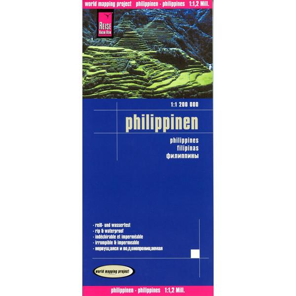 Philippinen 1 : 1.200.000 - Straßenkarte