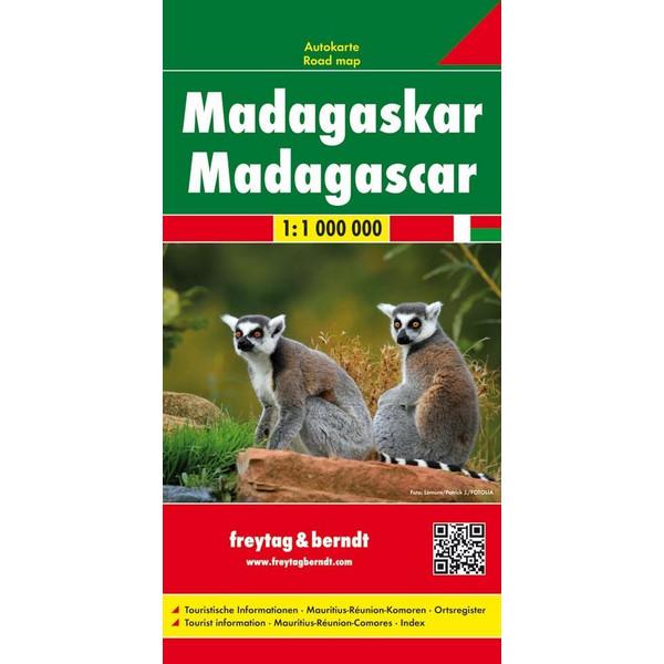 Madagaskar 1 : 1 000 000 - Straßenkarte