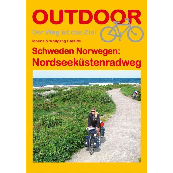 Schweden Norwegen: Nordseeküstenradweg - Wanderführer