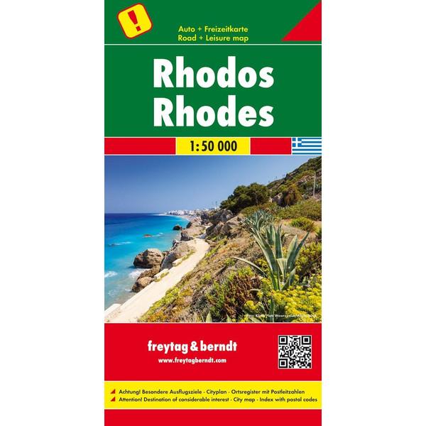 Rhodos, Autokarte 1:50 ß000