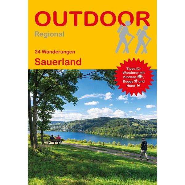 24 Wanderungen Sauerland - Wanderführer
