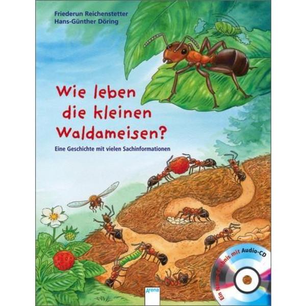Wie leben die kleinen Waldameisen? Kinder - Kinderbuch