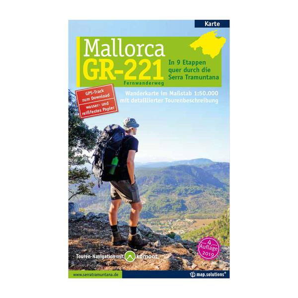 MALLORCA ¿ GR221 FERNWANDERWEG - Wanderkarte