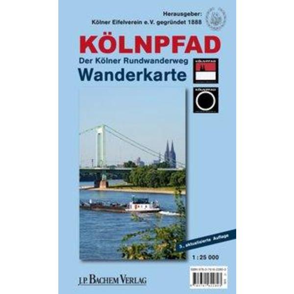 KÖLNPFAD. Wanderkarte - Wanderführer