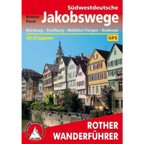 Südwestdeutsche Jakobswege - Wanderführer