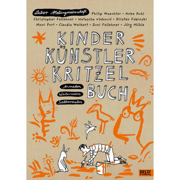 Kinder Künstler Kritzelbuch - Kinderbuch