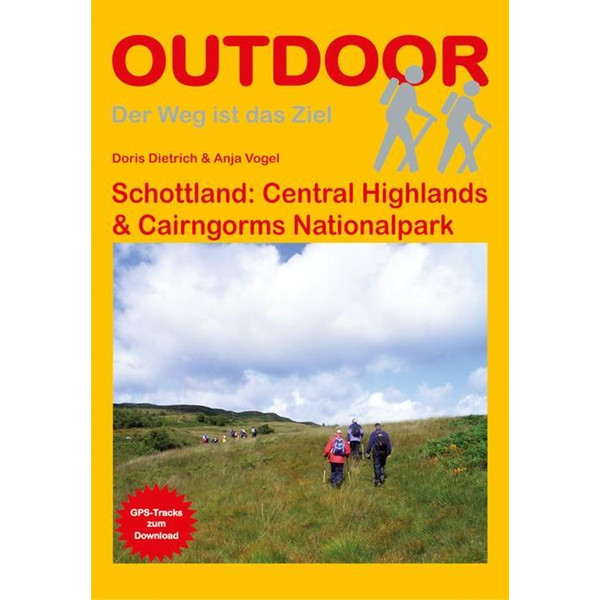 Schottland: Central Highlands & Cairngorms Nationalpark - Wanderführer